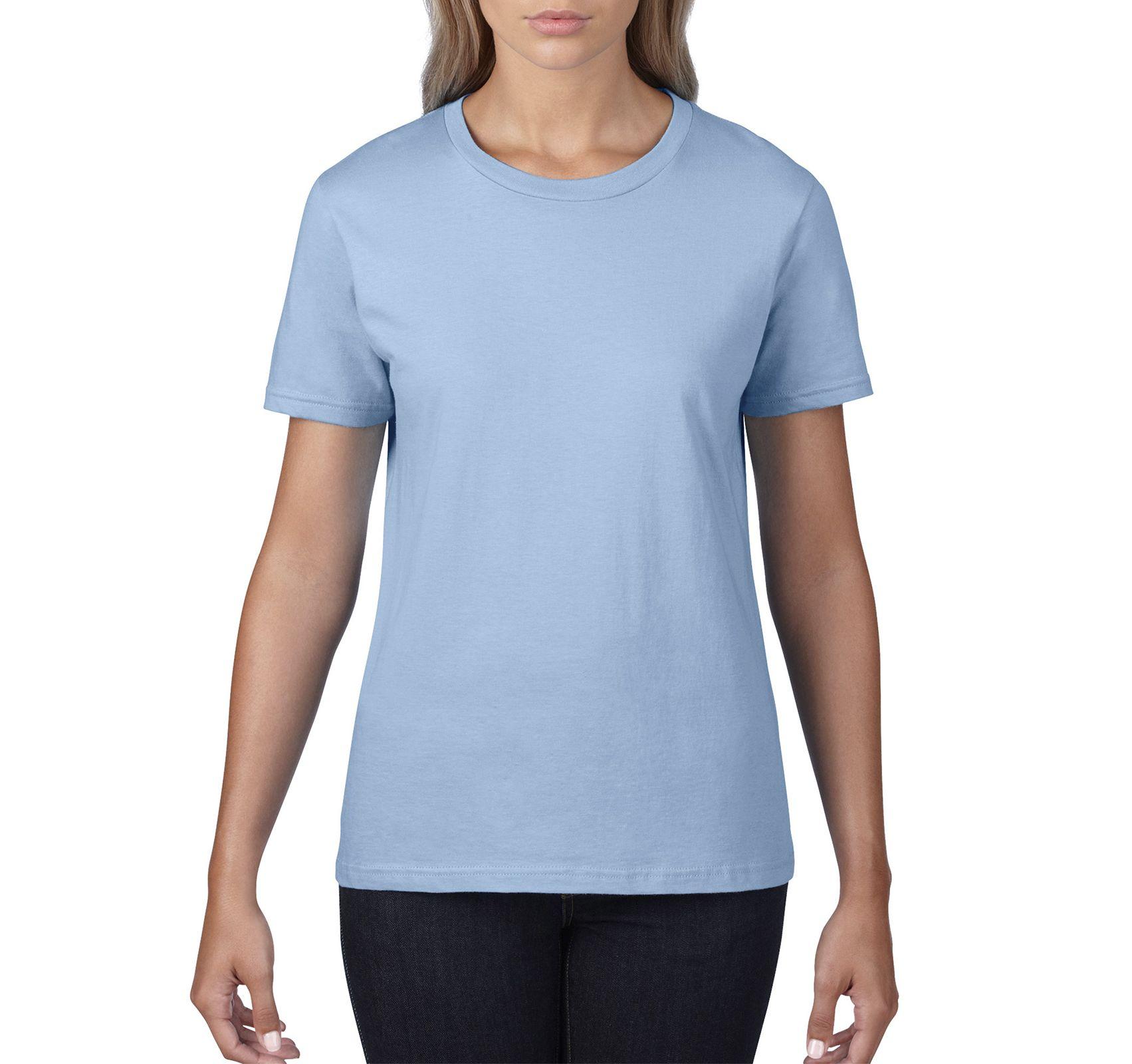 Одяг    Футболки    Футболка жіноча Premium Cotton 185 e1f363a50a2a6